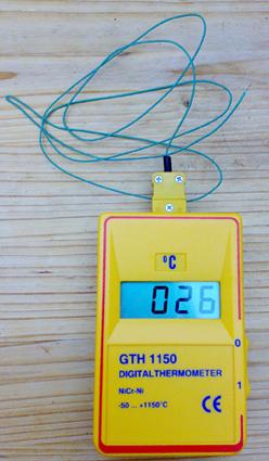 oberacker natur technik online backofen digitalthermometer bis 1150 grad ohne drahtf hler. Black Bedroom Furniture Sets. Home Design Ideas