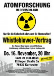 Atomforschung: Whistleblower Dr. Rainer Moormann